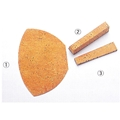 TSP Backside Cork Handle - Japanese Penhold Backside Thin Cork Block