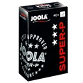 JOOLA Super-P 3 Star Plastic Table Tennis Ball - Seventy Two Pack