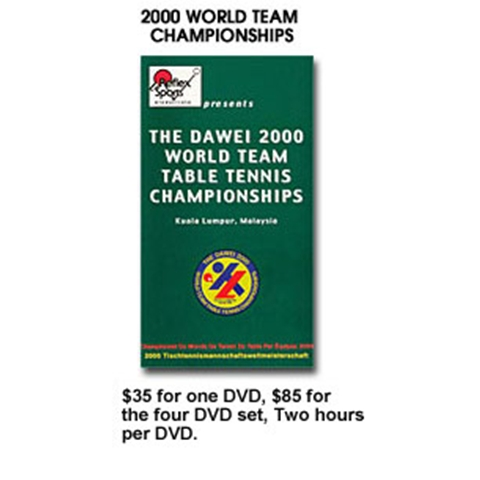 2000 world team table tennis championships - World table tennis championships ...