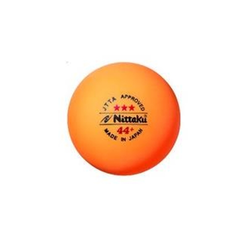Table tennis balls nittaku 44mm 3 star ball orange for 100 table tennis balls