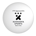 Xushaofa Seamless 3-Star Premium Poly Table Tennis Balls (Quantity 6)