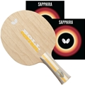 Butterfly Timo Boll Control Pro Line Flare Handle - Combo Special Table Tennis Racket