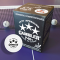 Gambler P40+ 3 Star Table Tennis Ball - 36 Box
