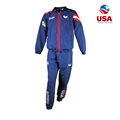 Butterfly 2019 USA Team Table Tennis Tracksuit Top