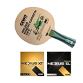 GEWO Aruna Magic Professional Table Tennis Racket with Nexxus Rubber.