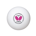 Butterfly S40+ 3-Star Table Tennis Ball - 3 Pack