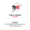 On Line Table Tennis Lessons