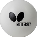 Butterfly Practice Ball White - 120 Pack Table Tennis Ball