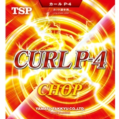 TSP Curl P4 (P-4) - Long Pips-out Table Tennis Rubber