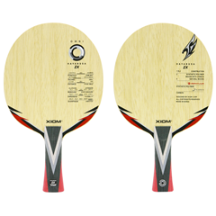 XIOM Hayabusa Zx OFF Plus Table Tennis Blade