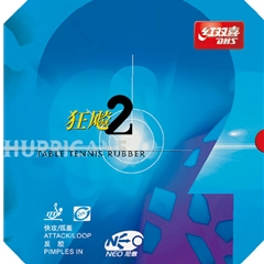 Dhs Hurricane 2 Neo Inverted Table Tennis Rubber