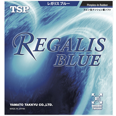 TSP Regalis Blue - Table Tennis Rubber with Built-in power and soft sponge