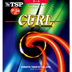 TSP Curl P3 Alpha R (P3AlphaR, P-3 Alpha R, P-3 Alpha, P-3 R, P-3-R) - Long Pips Table Tennis Rubber