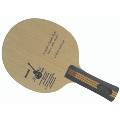 Nittaku Acoustic Carbon Inner Offensive Table Tennis Blade with Larger Handle
