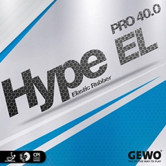GEWO Hype EL Pro 40.0 - Table Tennis Rubber