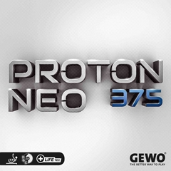 GEWO Proton Neo 375 - Table Tennis Rubber