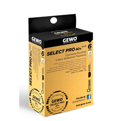 GEWO Select Pro 3 Star 40 Plus ABS Table Tennis Ball