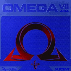 XIOM Omega VII Asia - Offensive Table Tennis Rubber