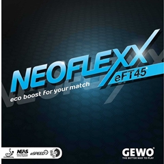 GEWO Neoflexx eFT 45 - Offensive Table Tennis Rubber