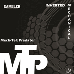 Gambler Mech-Tek Predator - Offensive Table Tennis Rubber