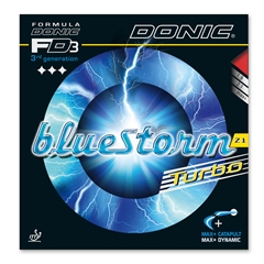 Donic Bluestorm Z1 Turbo - Inverted Table Tennis Rubber