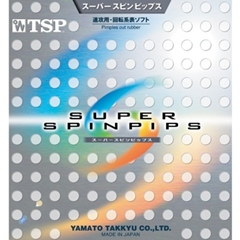 TSP Super Spinpips - Short Pips-out Table Tennis Rubber
