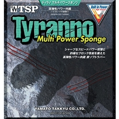 TSP Tyranno Multi Power Sponge - Short Pips Ping Pong Rubber