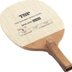 TSP Spin Ace Carbon Japanese Penhold (inversion grip) - OFF Table Tennis Blade