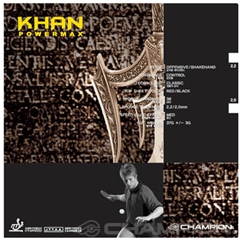 CHAMPION Khan - OFF Table Tennis Rubber