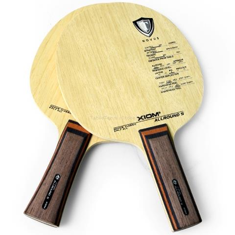 XIOM Allround S Table Tennis Blade   Show Picture 1. XIOM Allround S  Classic European Wood 5 Ply    All  Table Tennis
