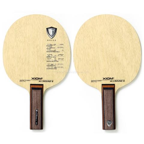 Show Picture 3. XIOM Allround S  Classic European Wood 5 Ply    All  Table Tennis