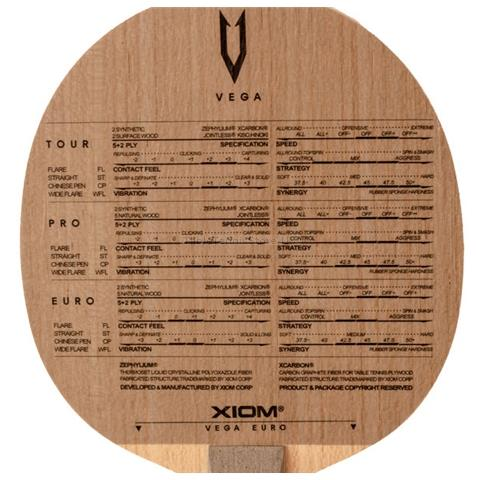 Show Picture 2. XIOM Vega Europe OFF  Table Tennis Blade