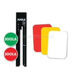 JOOLA Umpire Set - Table Tennis Tournament Umpire Tool