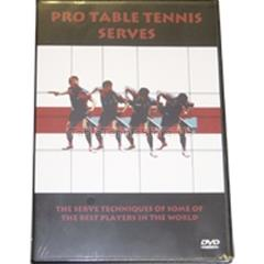 Table Tennis Serves Video - Pro Table Tennis Serves DVD