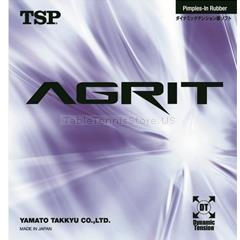 TSP Agrit - Table Tennis Rubber with Built-in power and soft sponge