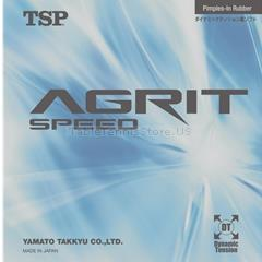 TSP Agrit SPeed - Table Tennis Rubber with Built-in power and soft sponge