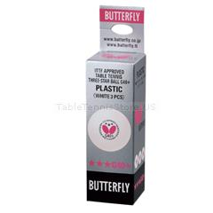 Butterfly 3-Star 40+ Balls Three Pack